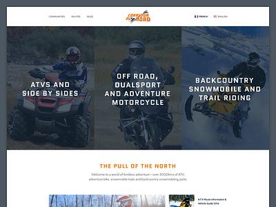 Motorsports Website website web sports clean ux ui