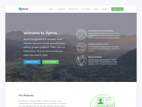 Aphria Homepage