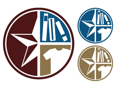 University Bookstore at Texas State Avatar Concept avatar higher ed txstate txst 1color 3color icon logo