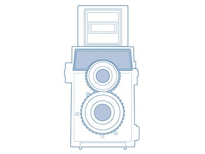 Adam Clay Photography Logo personal avatar line photography vector logo
