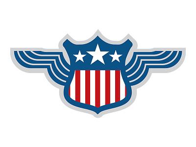 Patriotic Crest / Shield vector patriotic shield crest