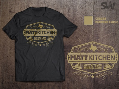 Matt Kitchen Gig Shirt design tshirt