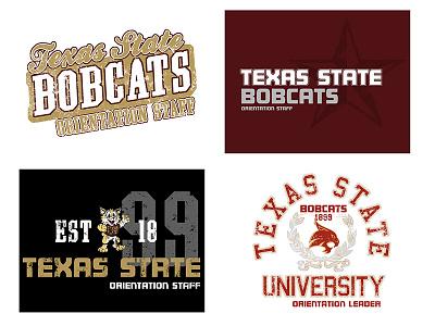 Texas State Orientation Staff Leader Shirts - 2012 design tshirt