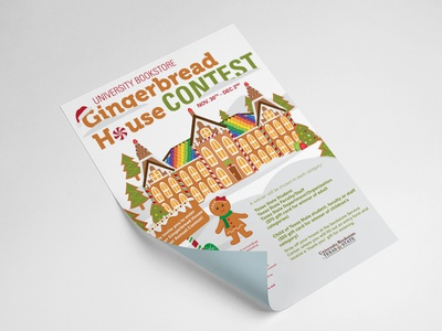 Gingerbread House Contest 2015 flyer