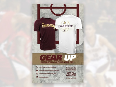 2016 - Gear Up - Basketball Ad web ad graphic design ad