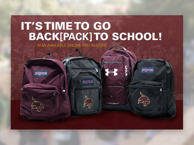 2016 - Back[pack] to School ad web ad graphic design ad