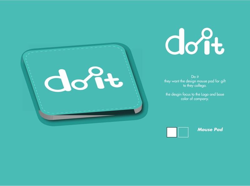 Mouse Pad Do it vektor mousepad illustration advertising design advertisement advertise illustation adobe illustrator design