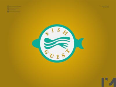 Fish Guest Logo Branding logo branding design