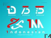 Indonesian 75th Logo Concept logo design