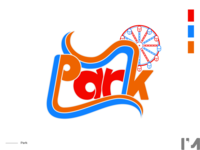 Park amusement park dribbbleweeklywarmup
