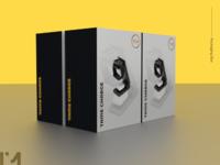 Packaging Box Charge design 3dmodel mockup blender3d 3d