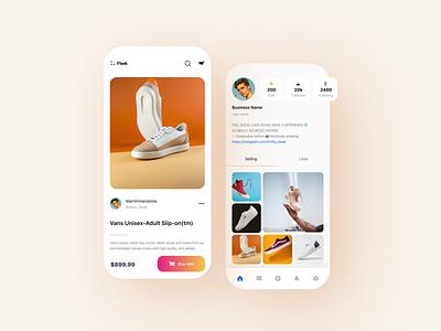 Flask business app mobile illustration website