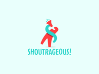 Shoutrageous Logo