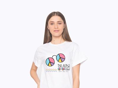 The Alpha Flea Event Tshirt Design tshirt mockup tshirt logo tshirt art tshirt design