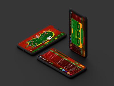 Chinese Poker game UI game app ux design uxdesign ux  ui uxui ui design game ui poker game app app design app ui ui  ux uidesign ux uiux ui design creative