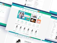Rentzania Website Ui Design work