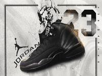 Air Jordan 12 Winterized Black
