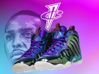 Nike Lil Posite One Iridescent