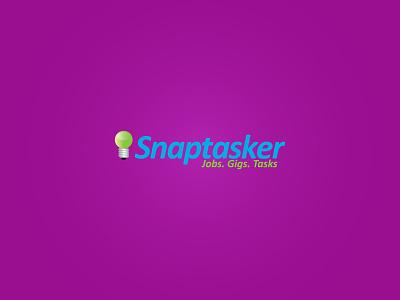 Snaptasker - Logo Design branding illustration icon design typography illustrator graphic design flat  design vector logodesign logo