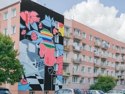 done mural in Jarocin (Poland)