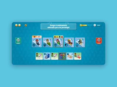 Microcombat - Game App figma appgame app design game app game card card game apgame gameapp game design app interaction appdesign ui