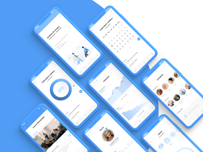 Micely, cancer App.  (UX-UI Design healthcare) sketch app animations app principle sketch app interaction designer interaction webdesigner webdesign ux designer ux  ui ui