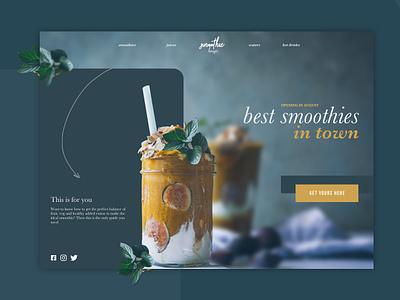Daily03 - Landing Page dailyuichallenge dailyui 003 uidesign branding ui ui design dailyui