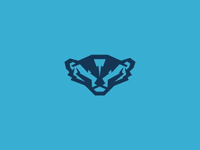 Badger Icon animal mark badger branding logo illustration icon