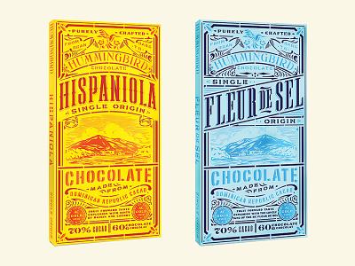 Hummingbird Concept canales jose chocolate illustration logo packaging branding