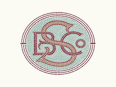 Symbolic Monogram illustration monogram mark icon logo branding