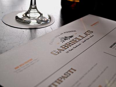 Gabriella's Italian Grill Branding