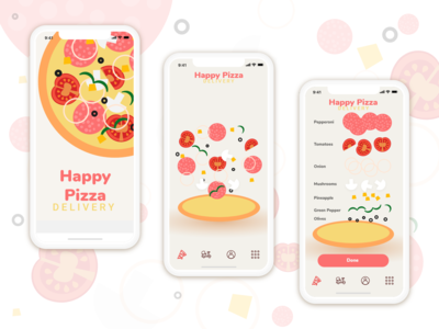 Pizza Customizer App