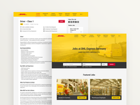 DHL Career Website