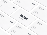 W3M Logo and Business Card