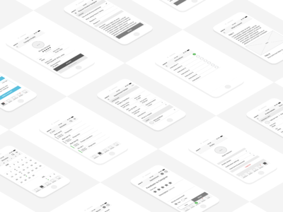 Wireframes for Hospital Tracking System
