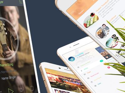 8 for Sketch 3 - Mobile UI Kit Part 3