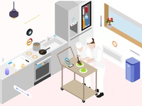 SmartThings Isometric Illustration