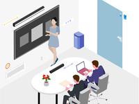 SmartThings Isometric Illustration