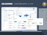 29Admin Dashboard UI Kit