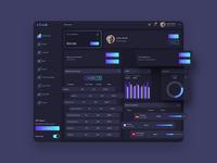 ADash Finance Dashboard Ui Dark & Light