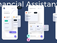 Personal Financial Assistant Light Mobile Ui Kit
