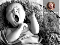 White Black Popular Photoshop Actions for Photographers