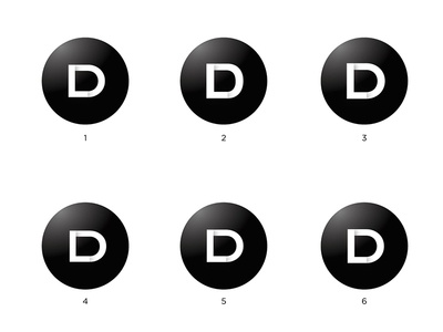 Logo Lartigue Design LD Project 2015 V2 ld black circle gradient logo