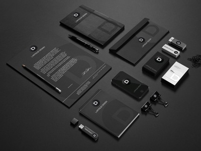 Corporate Identity for Lartigue Design branding lartigue design ld logo indentity corporate