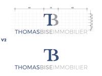 Logo Thomas Bise Immobilier V2 Sans_Serif