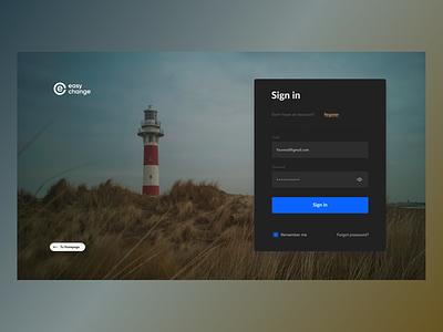 Easy Change web logo ux ui design site