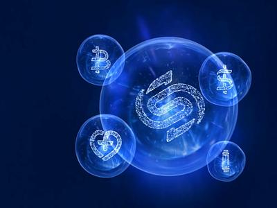 Multisystem illustration icon logo design animation 3d
