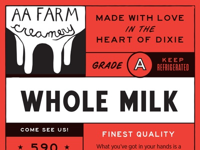 AAFC Whole Milk