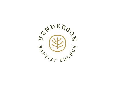 HBC—pt. 2 church organic gold identity logo