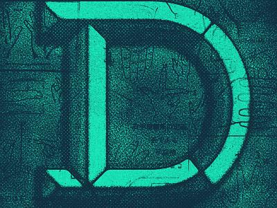 TYPEFIIIIIIGHT texture d lettering typefight